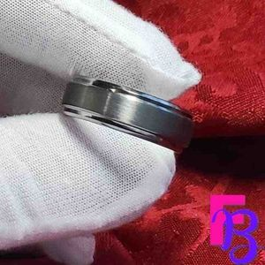 Size 11 8mm Tungsten Ring